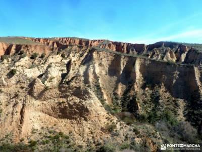 Cárcavas Alpedrete de la Sierra y Cerro Negro; senderismo organizado excursiones programadas